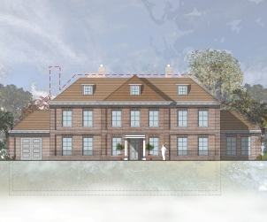 Gregories Road Front Elevation