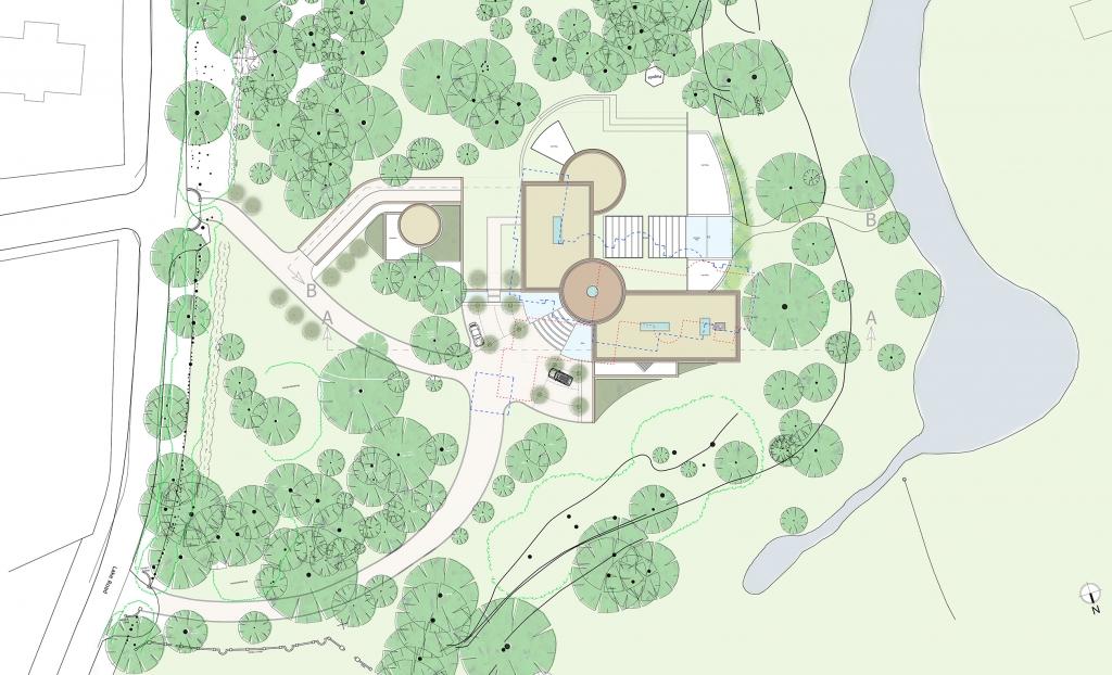 Seven Pines Site plan